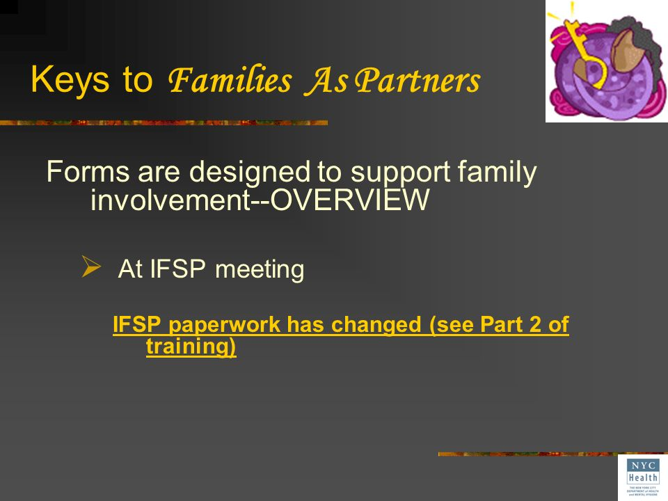 Keys to Families As Partners