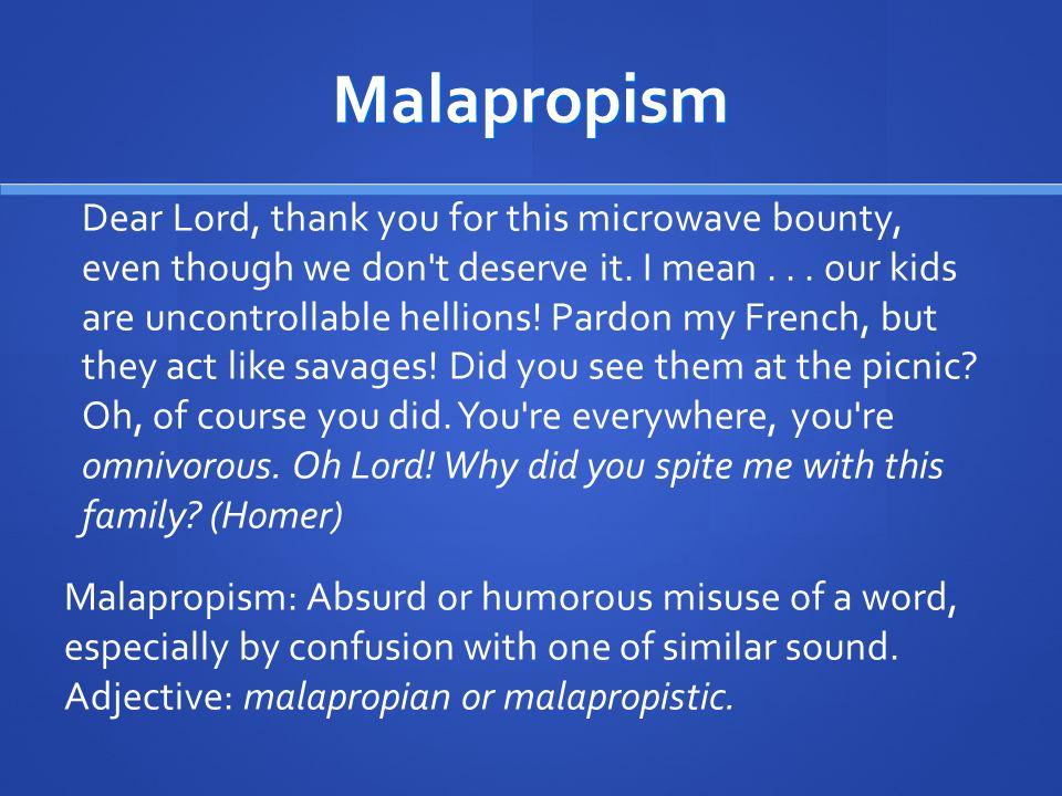 Malapropism