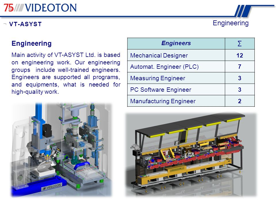 Engineering Engineering ¬ VT-ASYST