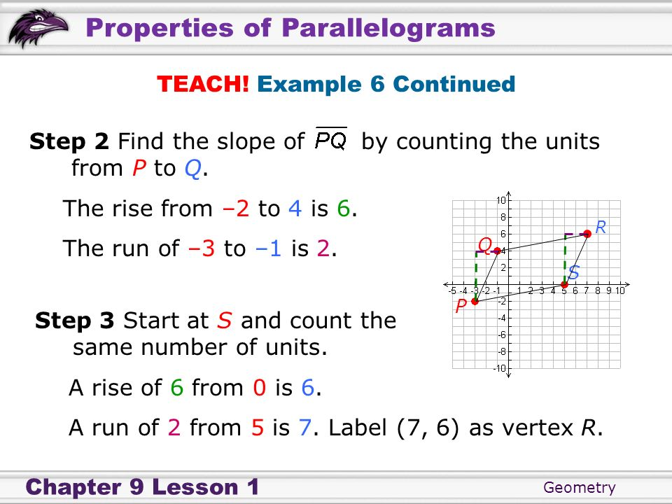 TEACH! Example 6 Continued