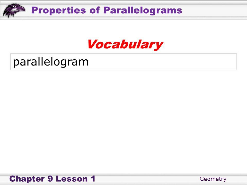 Vocabulary parallelogram