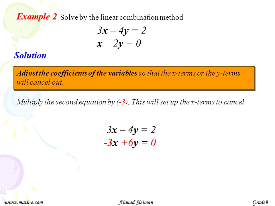 Equations in Two variables - ppt download