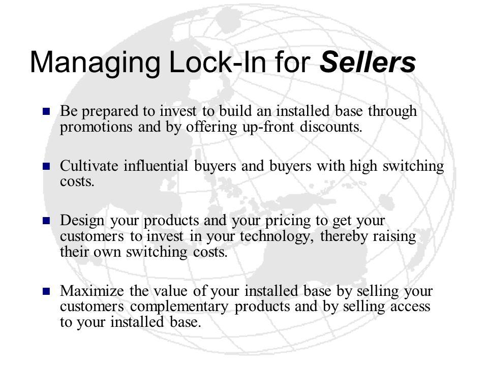 Managing Lock-In for Sellers