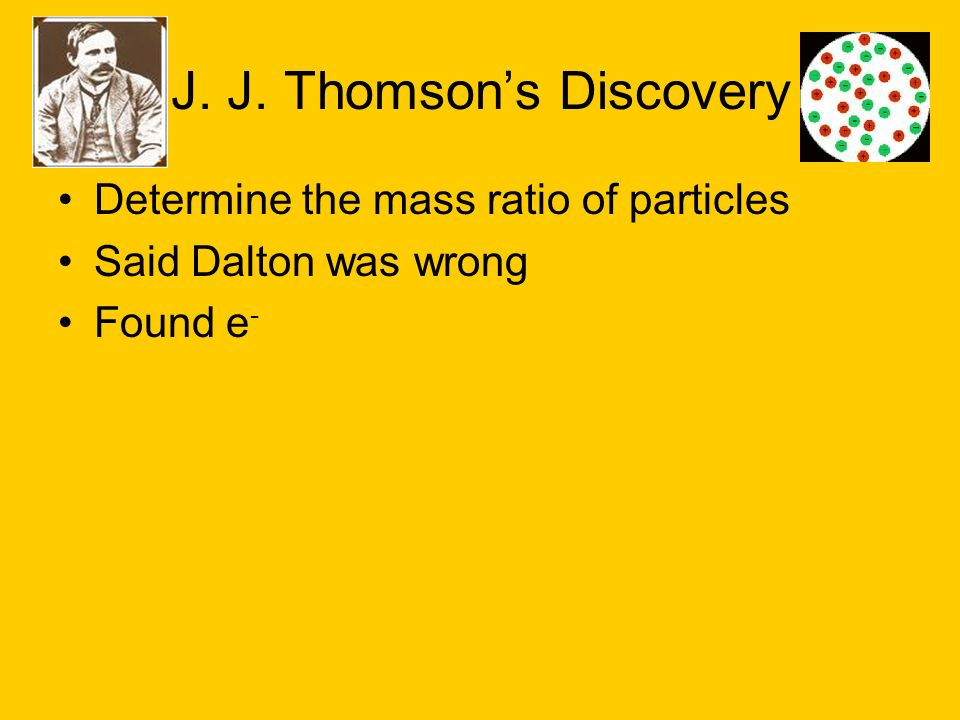 J. J. Thomson's Discovery