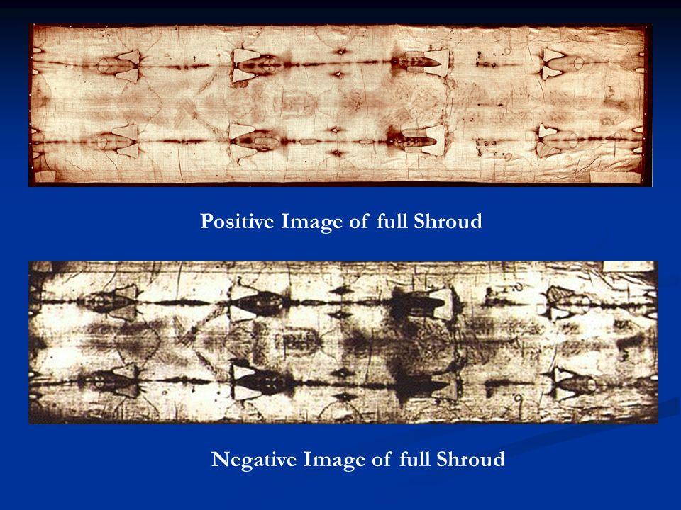 Positive Image of full Shroud