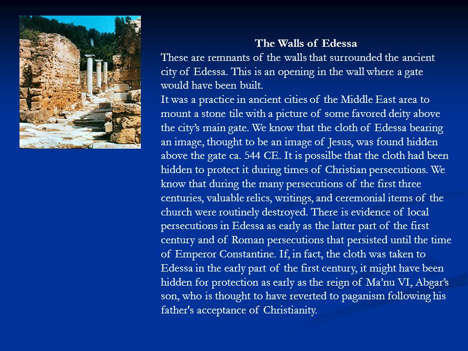 The Walls of Edessa