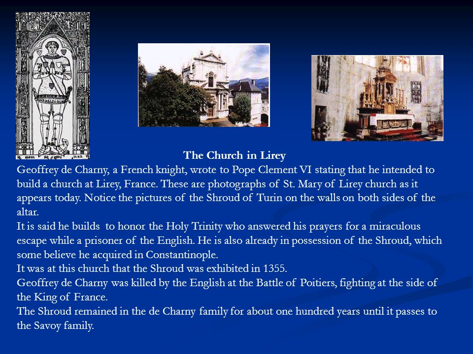 The Church in Lirey