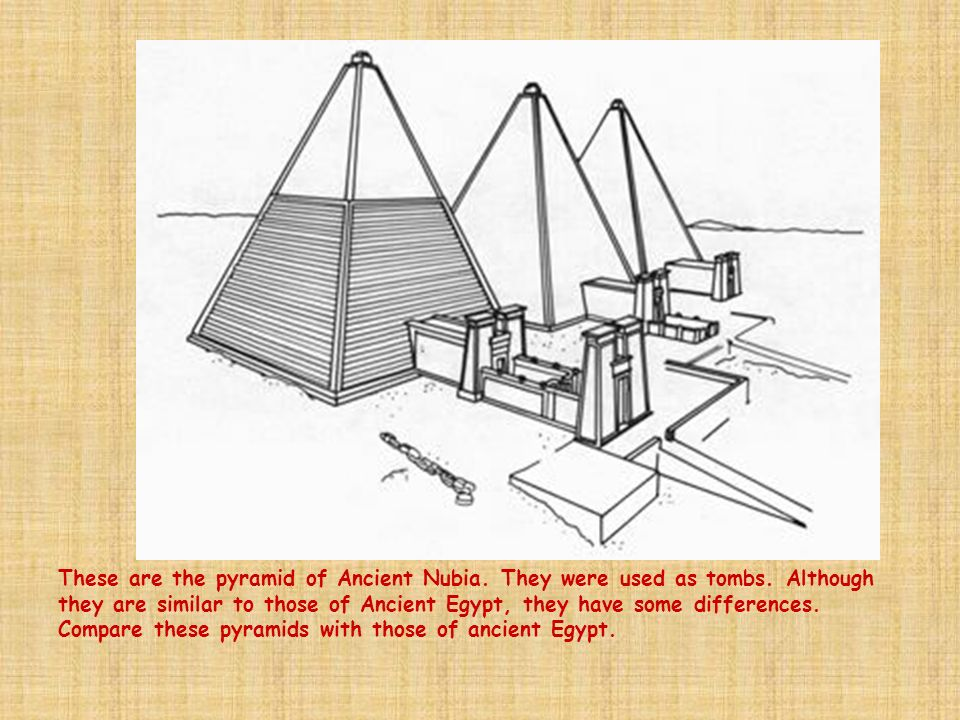 These are the pyramid of Ancient Nubia. They were used as tombs