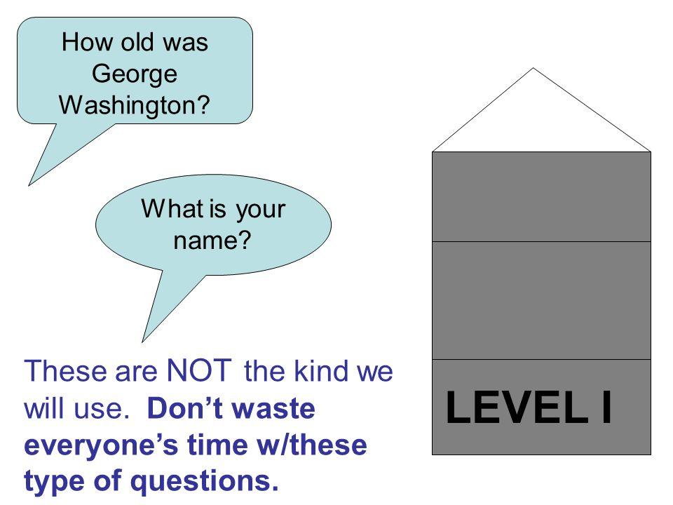 How old was George Washington
