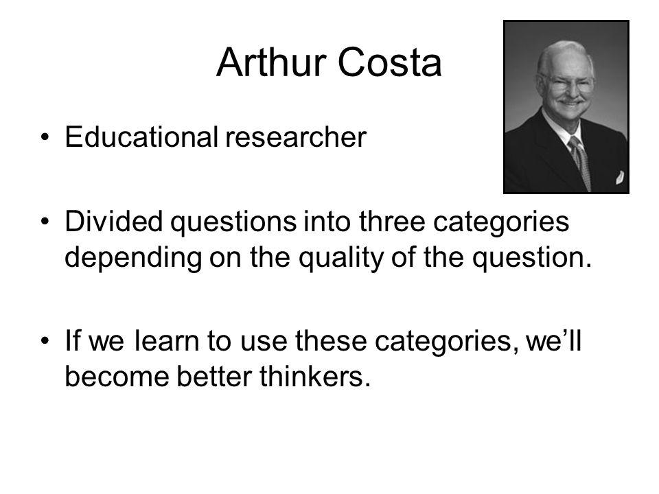 Arthur Costa Educational researcher