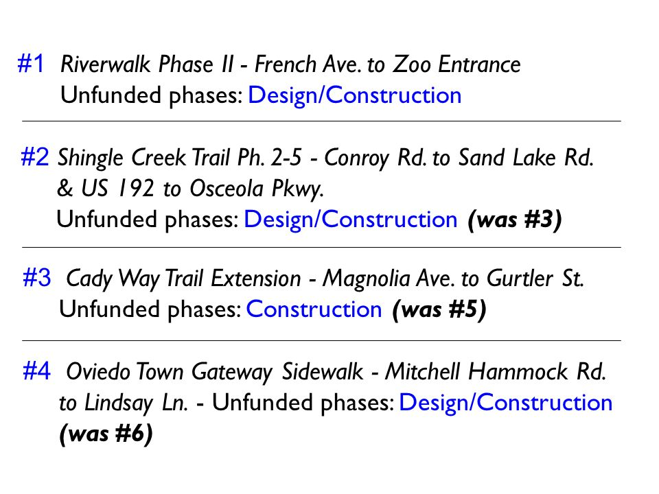 #1 Riverwalk Phase II - French Ave. to Zoo Entrance