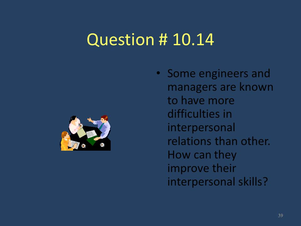 Question # 10.14