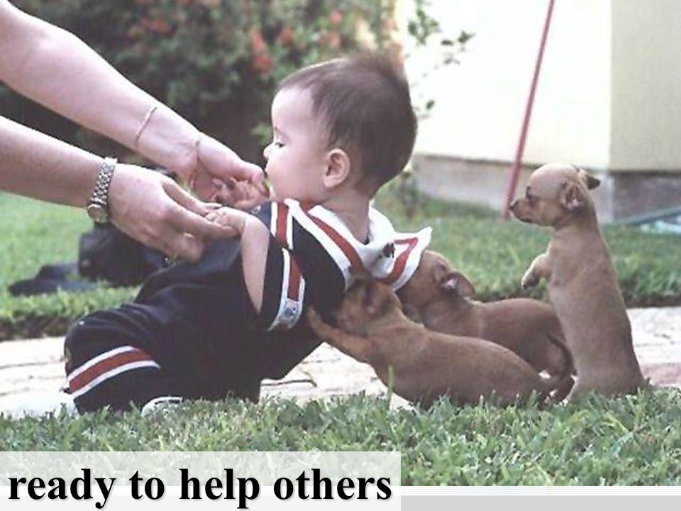 ready to help others