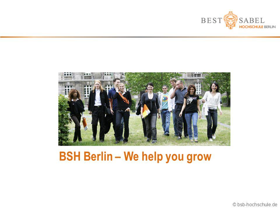 BSH Berlin – We help you grow