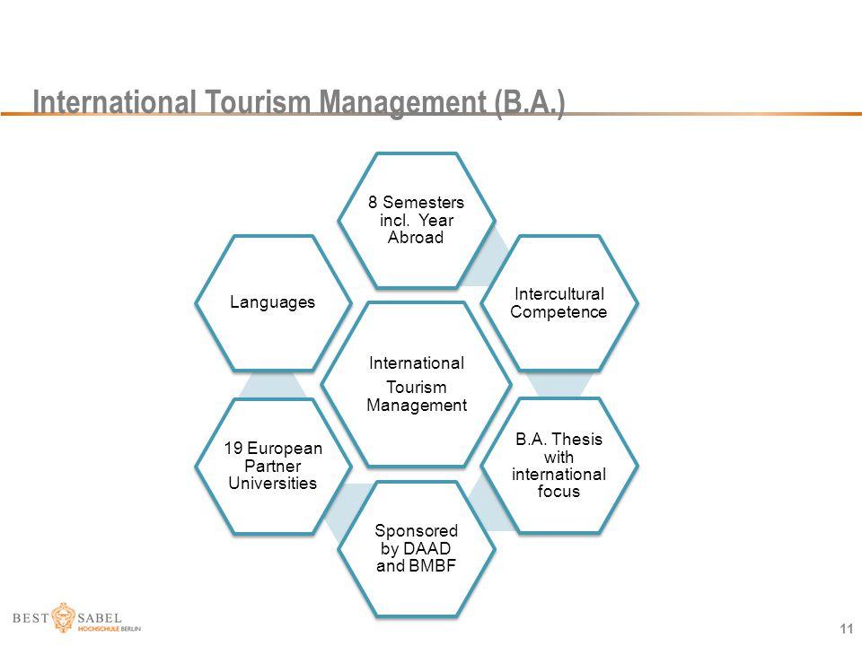 International Tourism Management (B.A.)