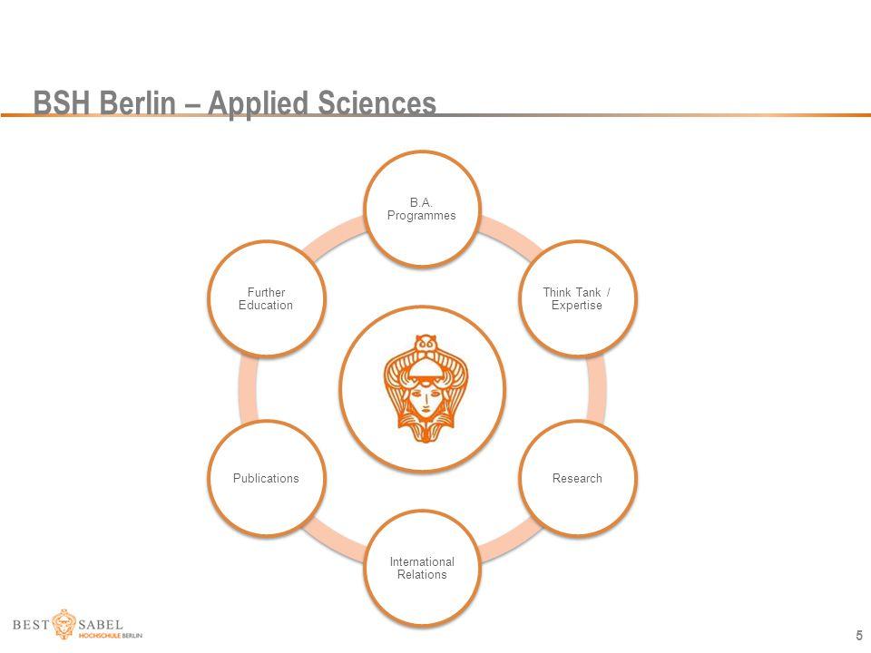 BSH Berlin – Applied Sciences
