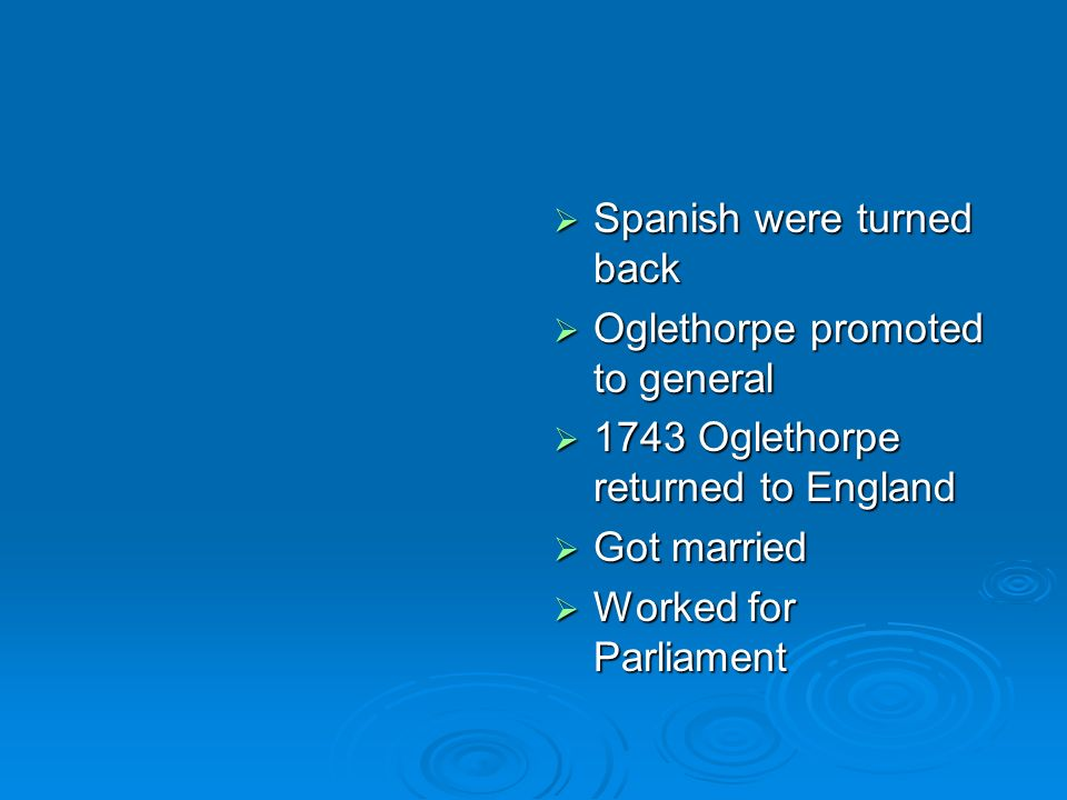 Spanish were turned back