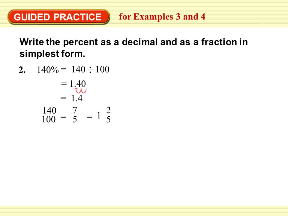 how to find 4 9 as a percentage