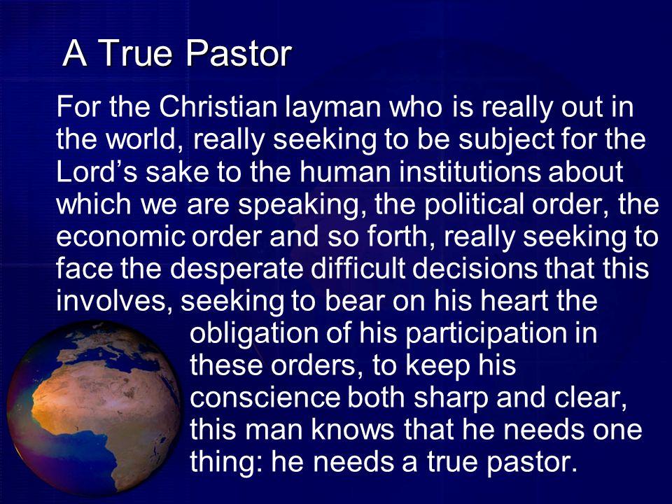 A True Pastor