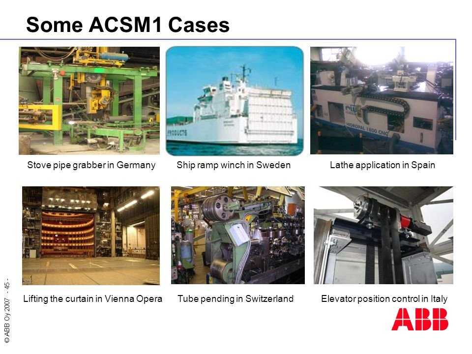 Some ACSM1 Cases Stove pipe grabber in Germany