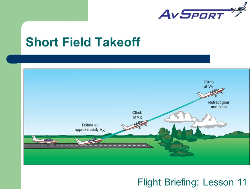 Short Field Takeoff