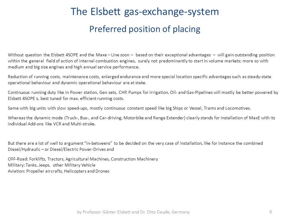 The Elsbett gas-exchange-system