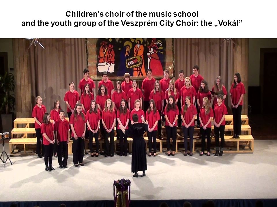 Children's choir of the music school