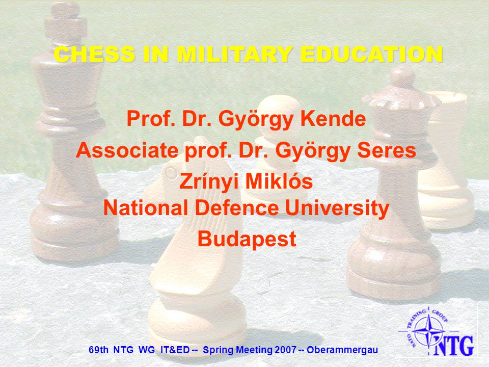 CHESS IN MILITARY EDUCATION