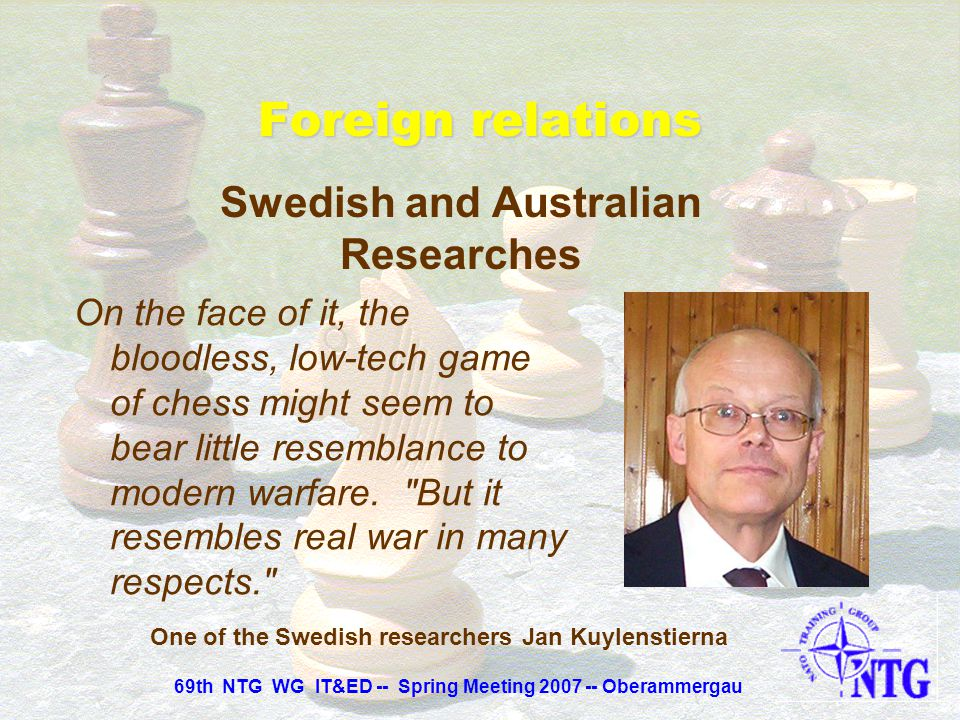 Swedish and Australian Researches