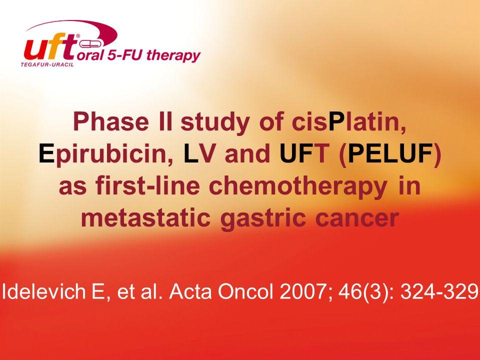 Idelevich E, et al. Acta Oncol 2007; 46(3): 324-329