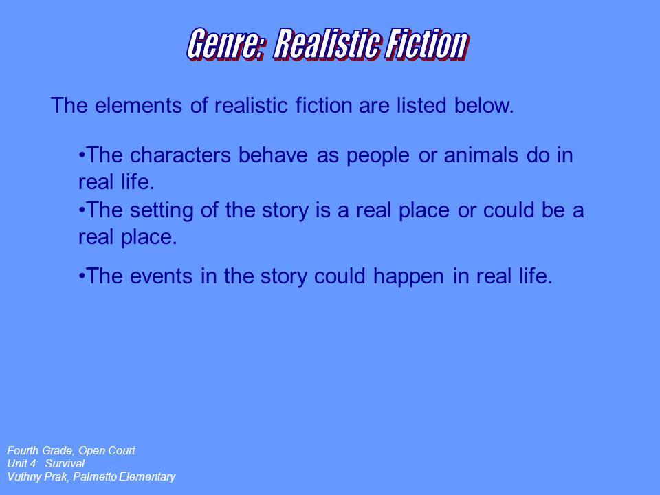 Genre: Realistic Fiction