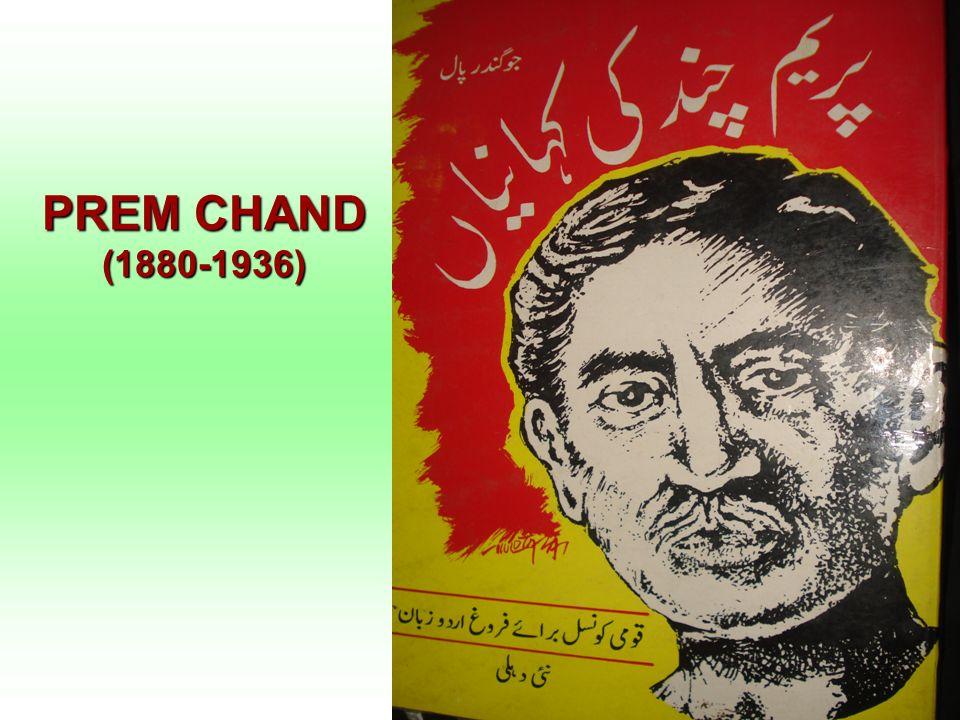 PREM CHAND (1880-1936)
