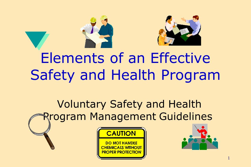 elements of safety