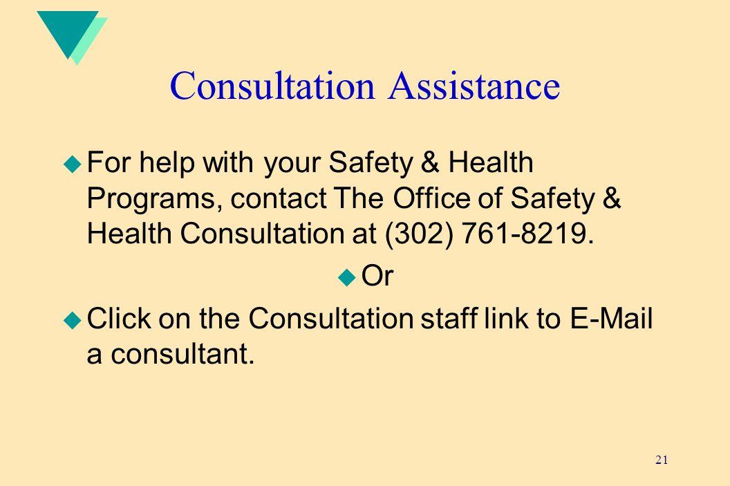 Consultation Assistance
