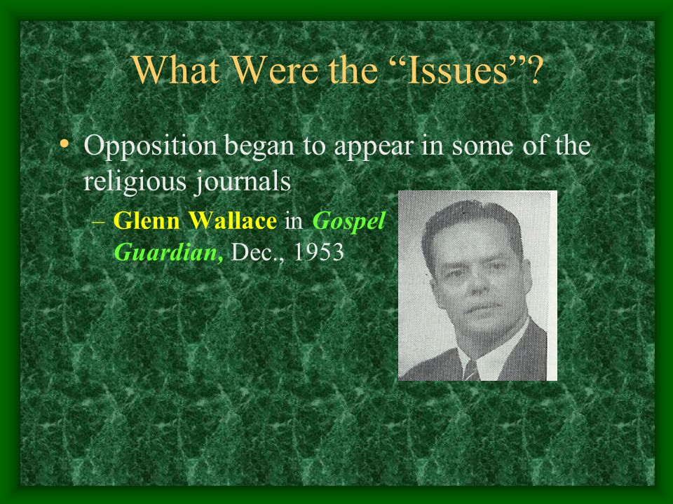 What Were the Issues Opposition began to appear in some of the religious journals.