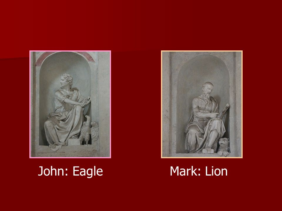John: Eagle Mark: Lion