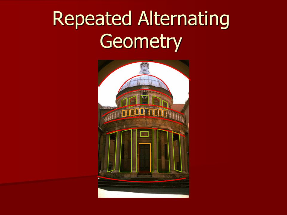Repeated Alternating Geometry