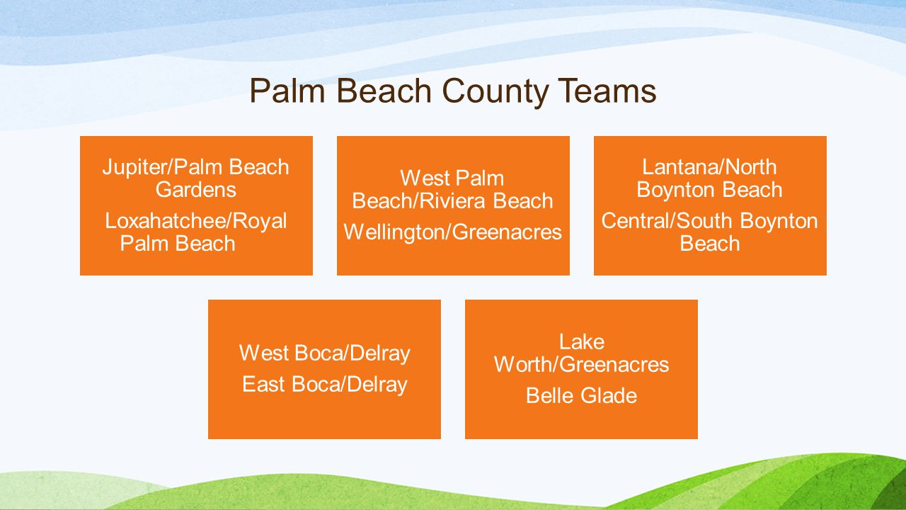 Palm Beach County Teams
