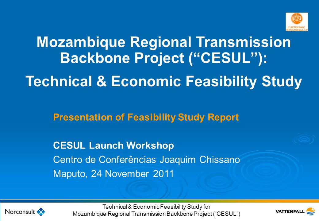Mozambique Regional Transmission Backbone Project ( CESUL ):