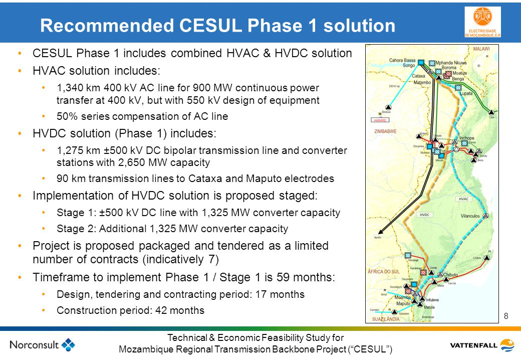 Recommended CESUL Phase 1 solution
