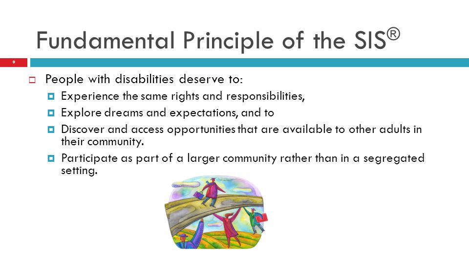 Fundamental Principle of the SIS®
