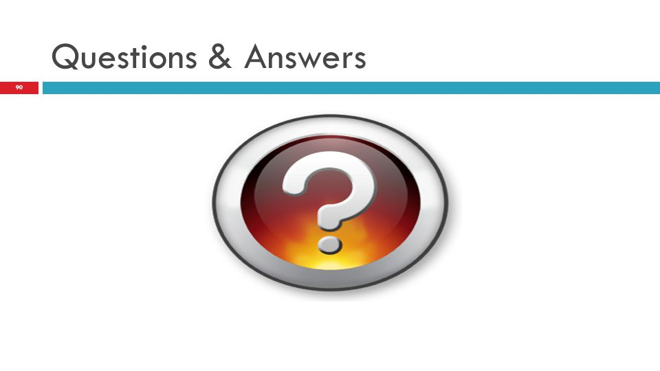 Questions & Answers This concludes the overview of the SIS® Assessment.