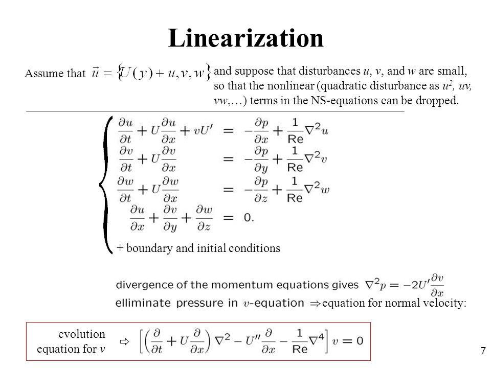 LinearizationAssume that.