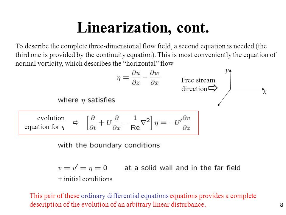 Linearization, cont.