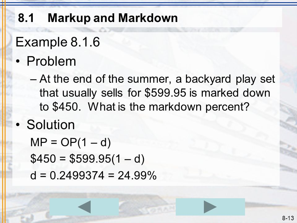 Example 8.1.6 Problem Solution 8.1 Markup and Markdown