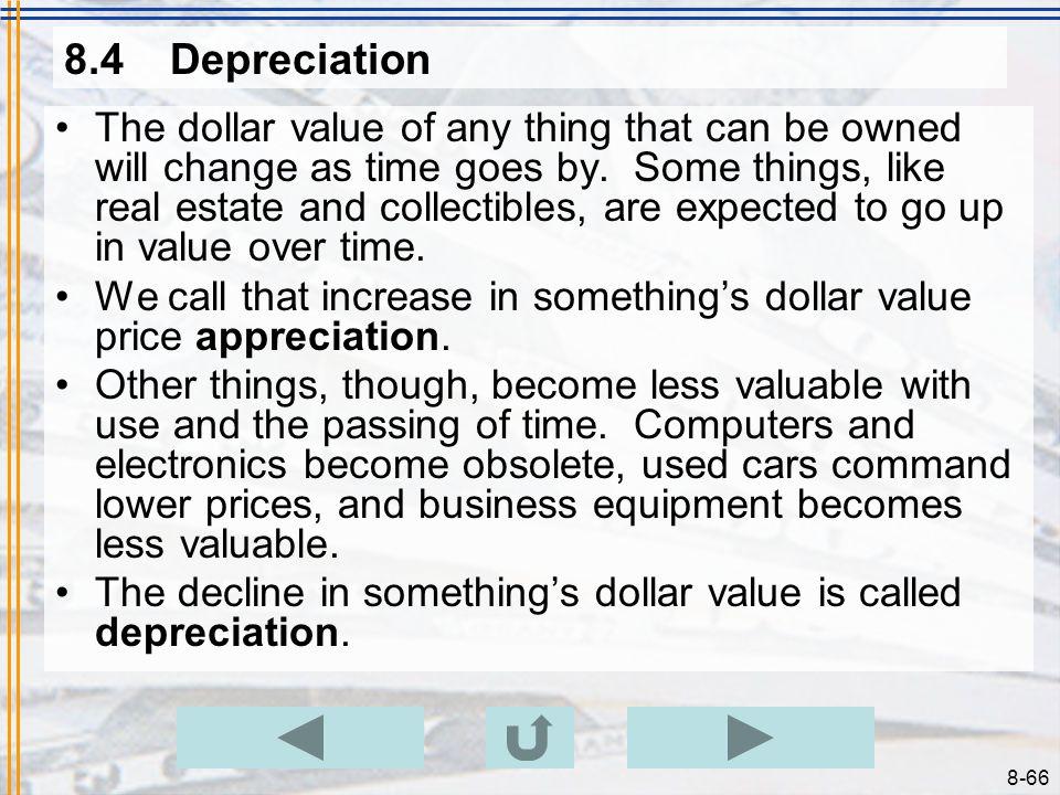 8.4 Depreciation