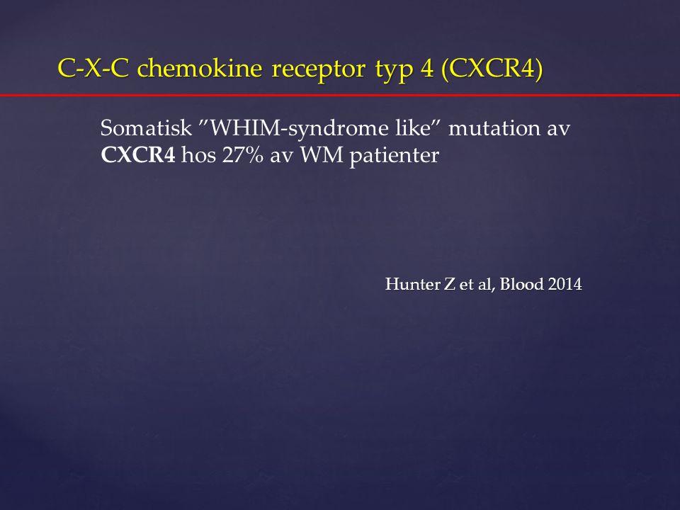 C-X-C chemokine receptor typ 4 (CXCR4)