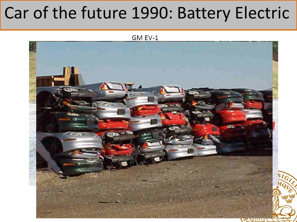 Car of the future 1990: Battery Electric