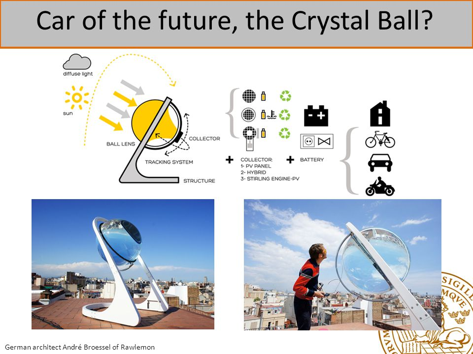 Car of the future, the Crystal Ball