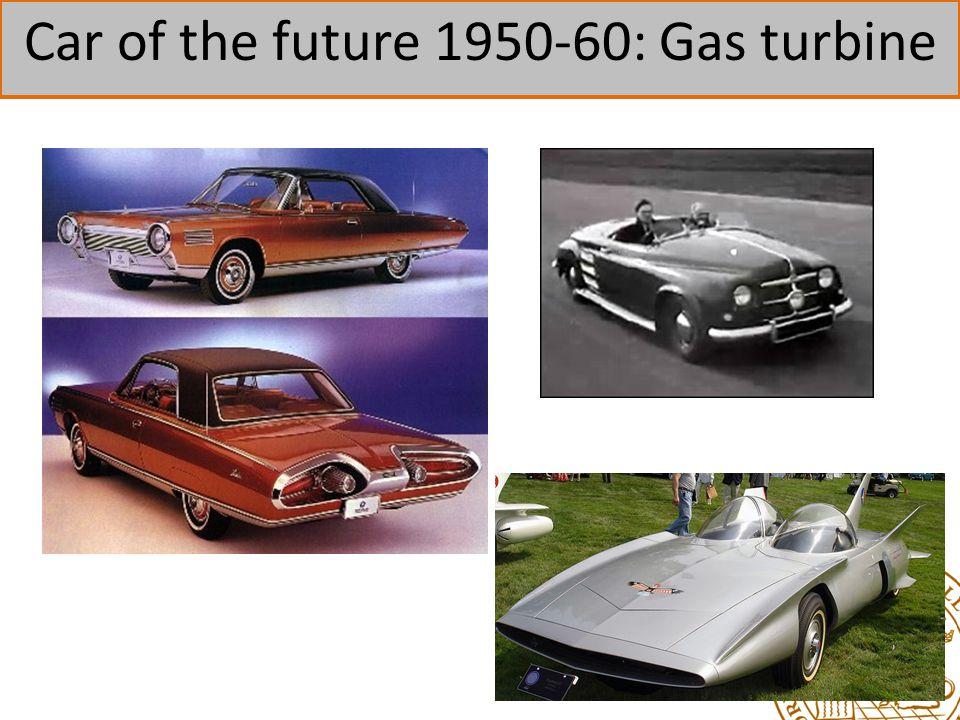 Car of the future 1950-60: Gas turbine